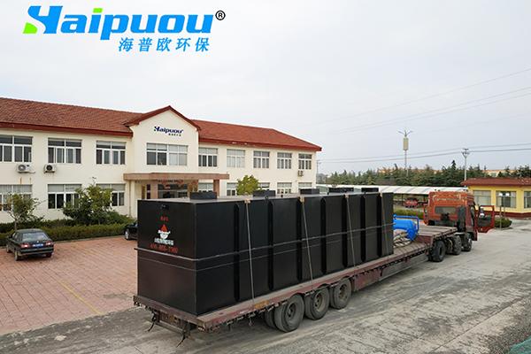 天津凉皮厂污水处理设备发货