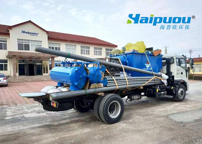 江西省余干养殖场污水处理订制设备发货