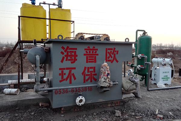 含油污水的危害以及处理工艺
